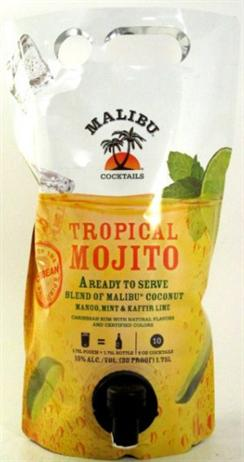 Malibu Cocktails Tropical Mojito